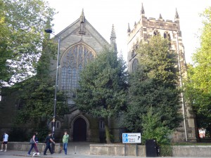 St Werburgh's Church now decommissioned as a church. One set of ancestors were married there a very long time ago.