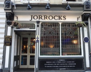 Another old pub, Jorrocks, which Bonnie Prince Charlie visited in 1745