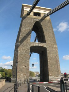 Clifton Bridge The design was based on Egyptian architecture.