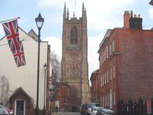 All Saints Church and Marygate St