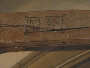 Date on rafter