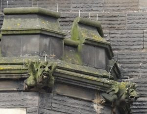 Gargoyles on St Michael's Church