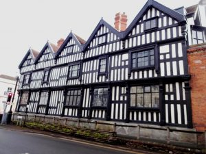 Ledbury-Park-15th-Century. Situated opposite the Royal Oak Hotel