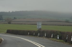 Scenery between Ledbury and Colwall