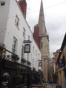 St Nicholas Church and market area