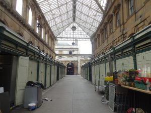 St Nicholas markets-closed
